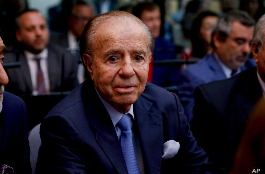 Πέθανε ο πρώην πρόεδρος της Αργεντινής Κάρλος Μένεμ
