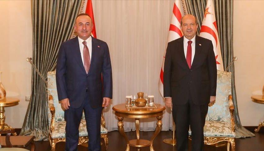 """Τσαβούσογλου: """"Δύο κράτη στην Κύπρο-Διαμοιρασμός των φυσικών πόρων- Συμφωνεί και ο Αναστασιάδης με την διχοτόμηση"""""""