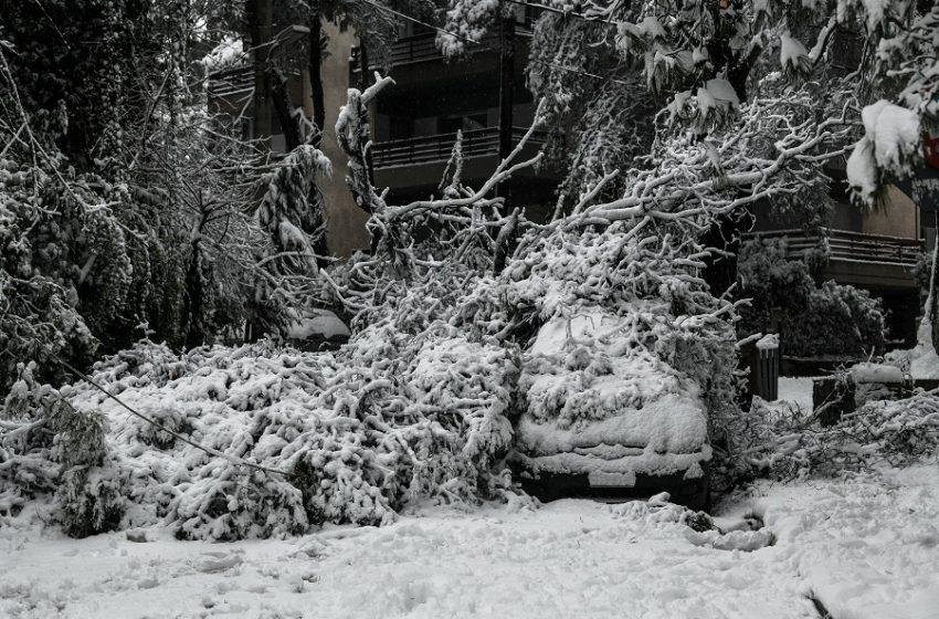Έκτακτο δελτίο από την ΕΜΥ για πυκνές χιονοπτώσεις – Η πρόγνωση στην Αττική