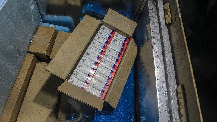 Η Γάζα παρέλαβε εμβόλια κατά της Covid από τα ΗΑΕ