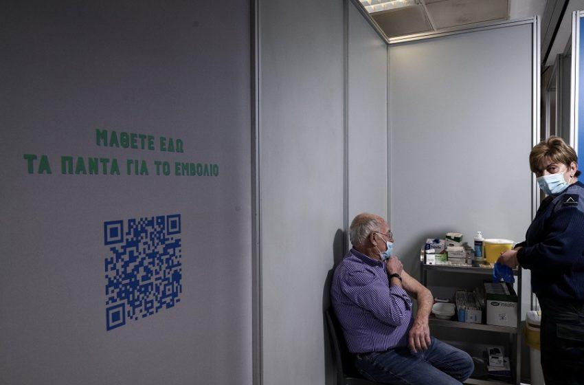 """Ταλαιπωρία και """"υπερφόρτωση"""" με τον εμβολιασμό: Μόνο δύο τα διαθέσιμα κέντρα σ' όλη την Αττική – """"Γολγοθάς"""" με τους ηλικιωμένους"""