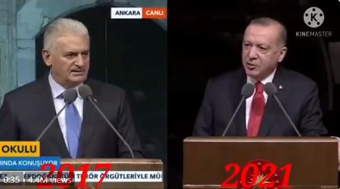 Διεθνούς εμβέλειας γκάφα: Ο Ερντογάν διάβασε λέξη προς λέξη την ομιλία του… Γιλντιρίμ (vid)