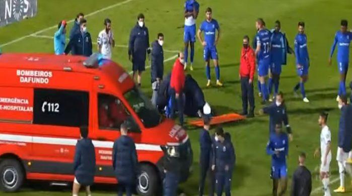 Τραυματισμός σοκ για τον Νανού της Πόρτο – Έκλαιγαν οι συμπαίκτες του, τον πήραν με ασθενοφόρο (vid)
