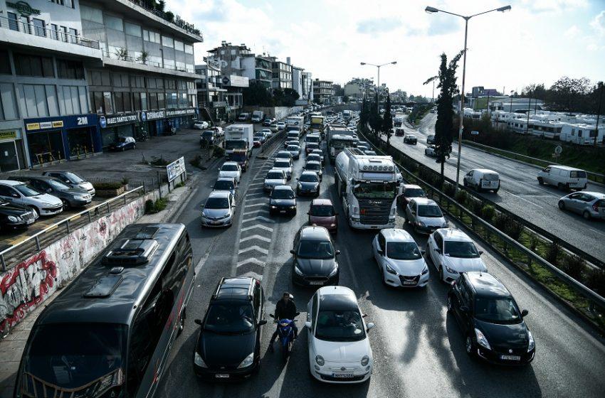 Κυκλοφοριακό στον Κηφισό λόγω τροχαίου