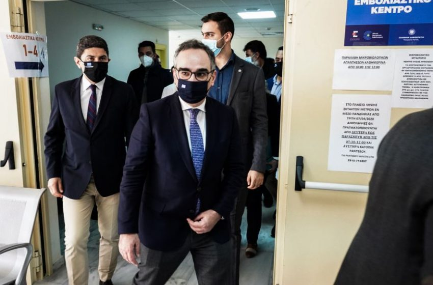 Κοντοζαμάνης: Η πανδημία δεν έχει τελειώσει, είμαστε έτοιμοι να αντιμετωπίσουμε το τρίτο κύμα