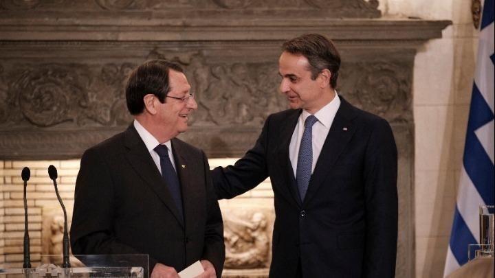 Τηλεφωνική επικοινωνία Μητσοτάκη-Αναστασιάδη- Στο επίκεντρο οι εξελίξεις στο Κυπριακό