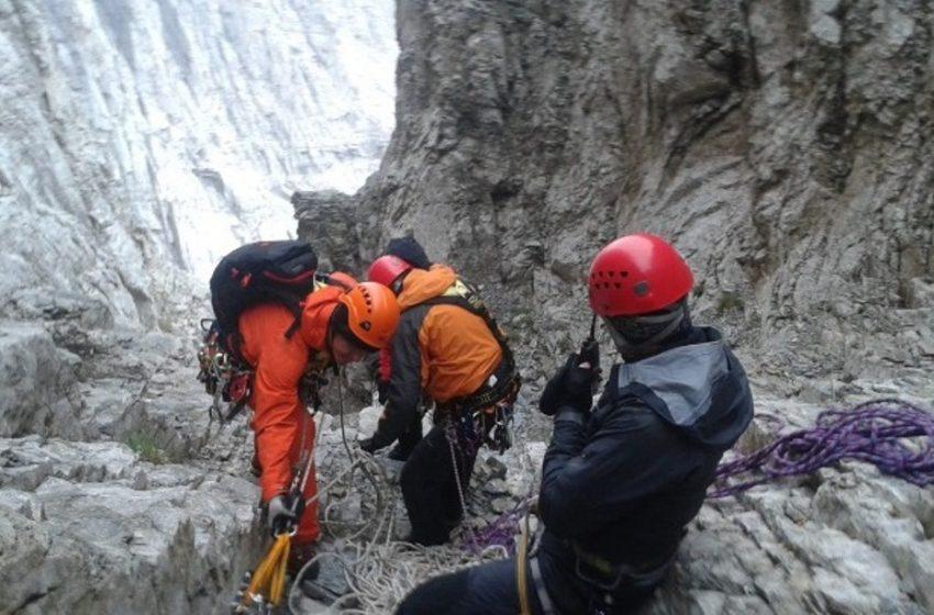 Ορειβάτης εντοπίστηκε στην Πάρνηθα χωρίς τις αισθήσεις του