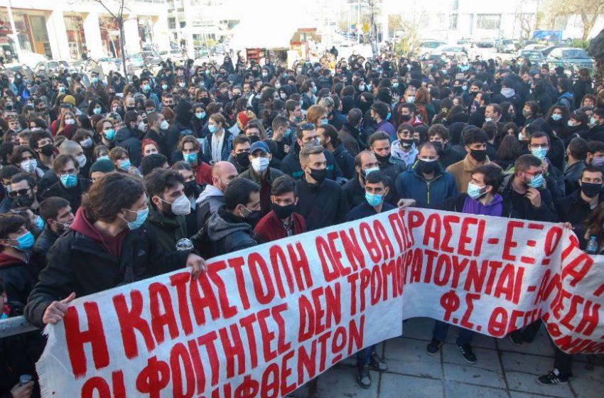 Ελεύθεροι αφέθηκαν οι 31 συλληφθέντες για τα γεγονότα στο ΑΠΘ