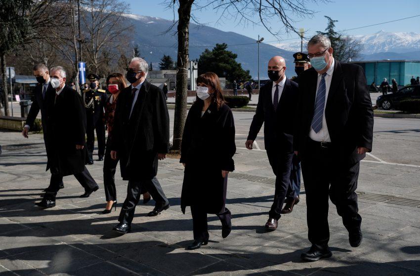 Εθιμοτυπικές επισκέψεις της ΠτΔ στην Περιφέρεια Ηπείρου και το Δημαρχείο Ιωαννίνων