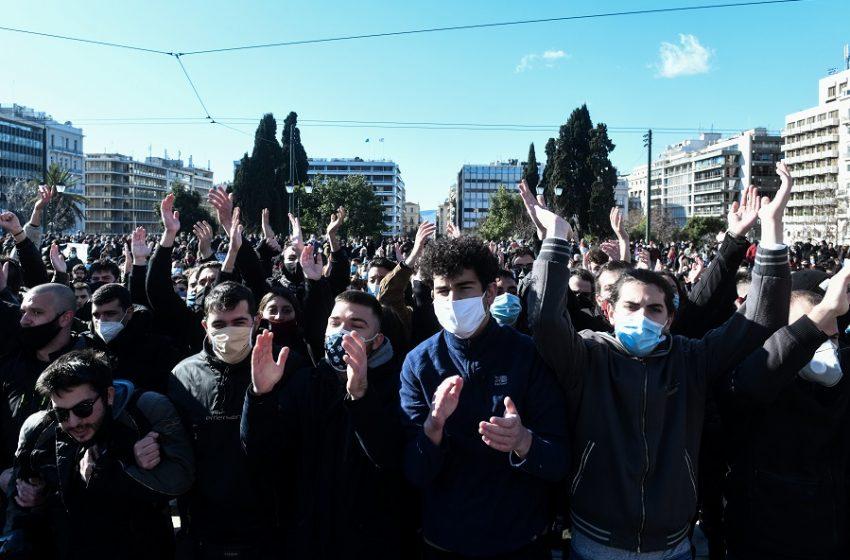 Συλλαλητήρια σε Αθήνα, Θεσσαλονίκη και άλλες πόλεις κατά του νομοσχεδίου  για τα Πανεπιστήμια