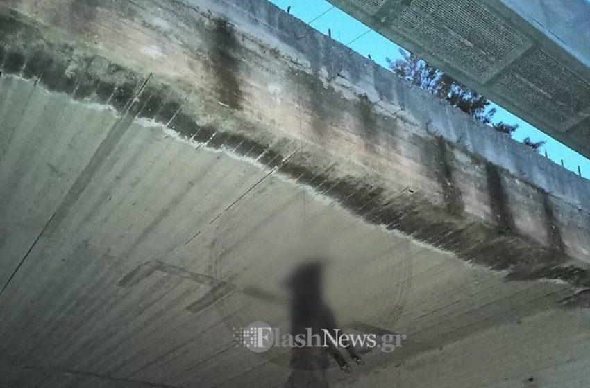 Φρικαλεότητα στα Χανία: Κρέμασαν σκύλο σε γέφυρα