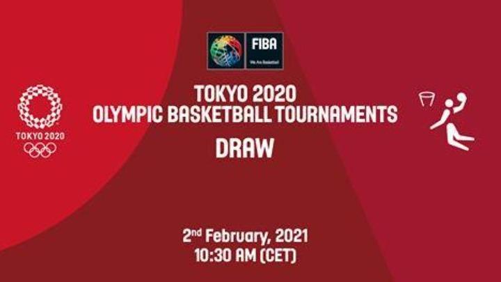 Live streaming οι κληρώσεις για τα Ολυμπιακά τουρνουά μπάσκετ σε άνδρες και γυναίκες