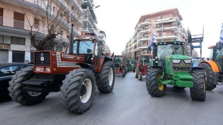 Συγκέντρωση διαμαρτυρίας αγροτών στην Αντιπεριφέρεια Σερρών