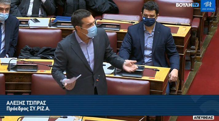Έκτακτη παρέμβαση Τσίπρα στη Βουλή (vid)