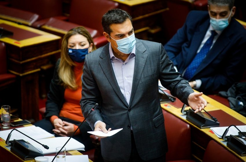 """Αποχώρησε ο ΣΥΡΙΖΑ από τη Βουλή – Σφοδρή επίθεση Τσίπρα για """"Μήδεια"""" και ΕΡΤ"""