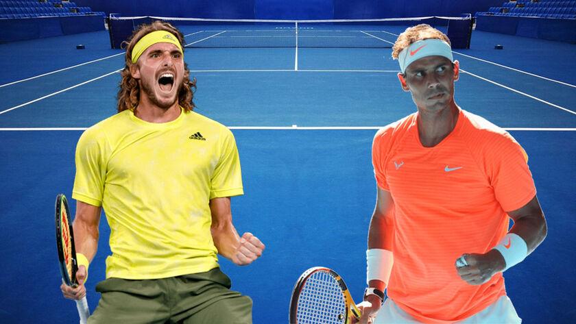 Ιστορική ανατροπή από Τσιτσιπά – Κέρδισε τον Ναδάλ ενώ έχανε με 2-0 και προκρίθηκε στους 4 του Australian Open