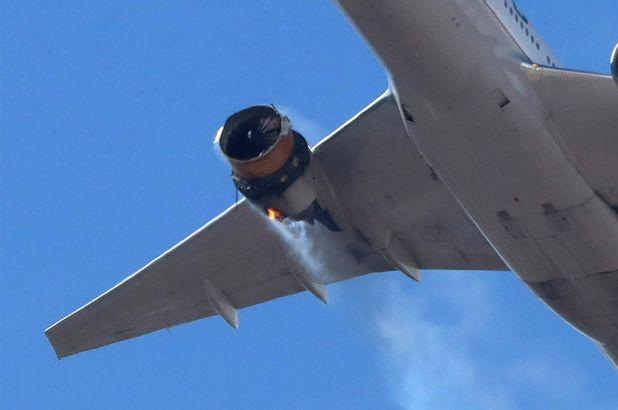 Πανικός στον αέρα: Εξερράγη κινητήρας αεροσκάφους της  United Airlines (vid)