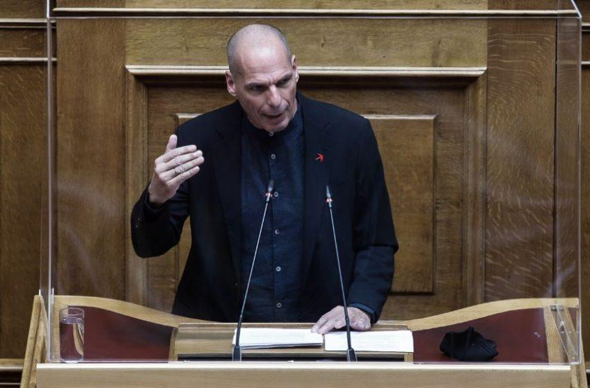 Βαρουφάκης: Χτίζετε λιθαράκι- λιθαράκι δικτατορία με κοινοβουλευτικό μανδύα