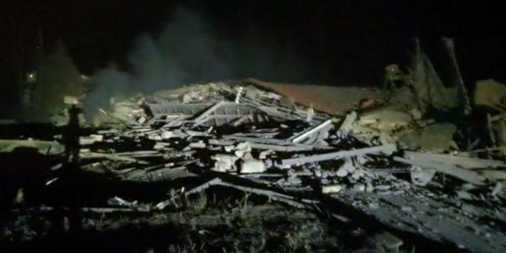 Νύχτα τρόμου στην Καστοριά – Ισοπεδώθηκε ξενοδοχείο από έκρηξη (vid)