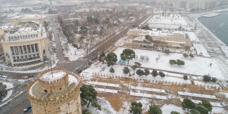 Λευκή Θεσσαλονίκη…άνωθεν