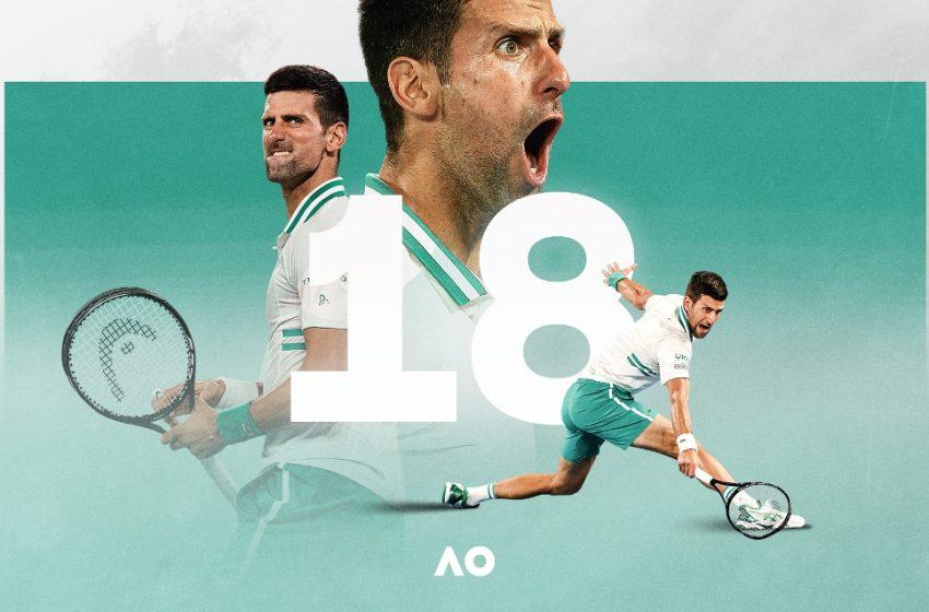 Πήρε για 9η φορά το Australian Open o Tζόκοβιτς και έφτασε τους 18 τίτλους σε Grand Slam