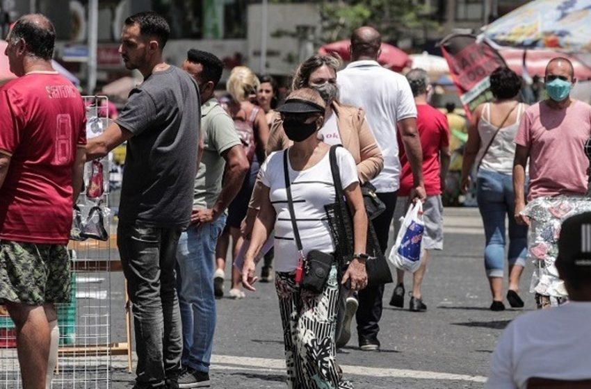 """Ανησυχία για τις μεταλλάξεις από την Βραζιλία: """"Οι χώρες θα κλυδωνιστούν από τρίτο και τέταρτο κύμα"""" προειδοποιεί ο Π.Ο.Υ"""