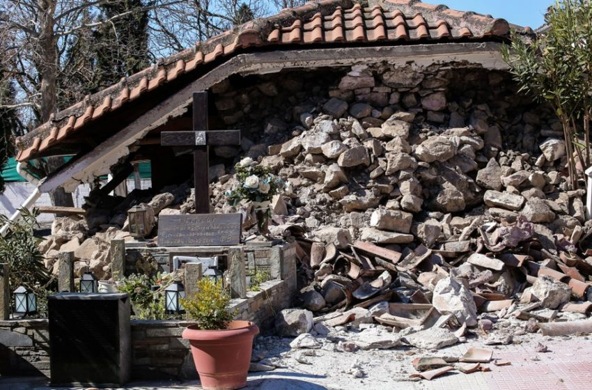 """Ελασσόνα: Μεγάλη η ανησυχία των σεισμολόγων –  """"Θα είναι απίθανο να μη γίνουν άλλοι ισχυροί μετασεισμοί"""" λέει ο Παπαζάχος"""