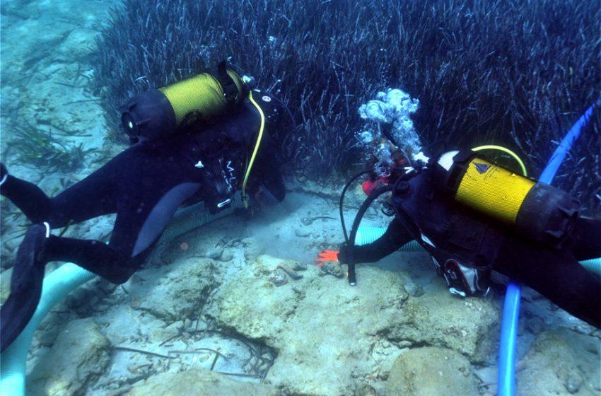 Υποβρύχια  αρχαιολογική έρευνα στον κόλπο της Ελούντας για την βυθισμένη πόλη