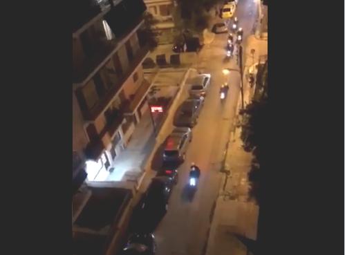 """Βίντεο: Αστυνομικοί της ΔIAΣ """"ξεσπάνε"""" σε αυτοκίνητο στην Πανόρμου (vid)"""
