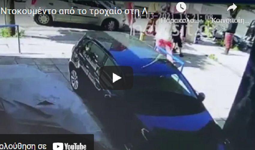Βίντεο από την τρελή πορεία του αυτοκινήτου στη Λιοσίων (vid)