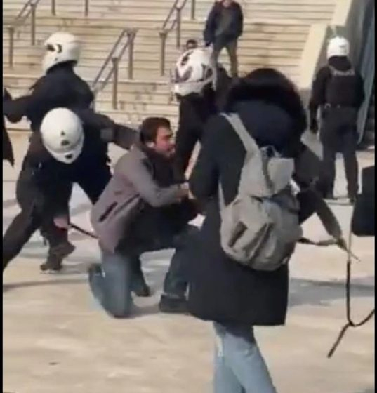 """Μπαλάσκας: """"Μεγάλη γκάφα και ανοησία το περιστατικό αστυνομικής βίας στη Νέα Σμύρνη"""""""