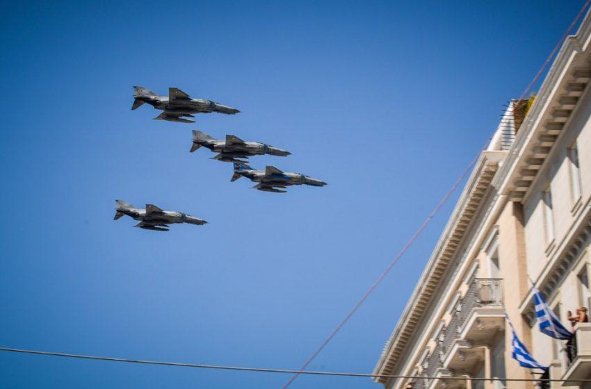 25η Μαρτίου: Παρέλαση με Rafale, F-16 και Voyager – Ποιοι θα λάβουν μέρος
