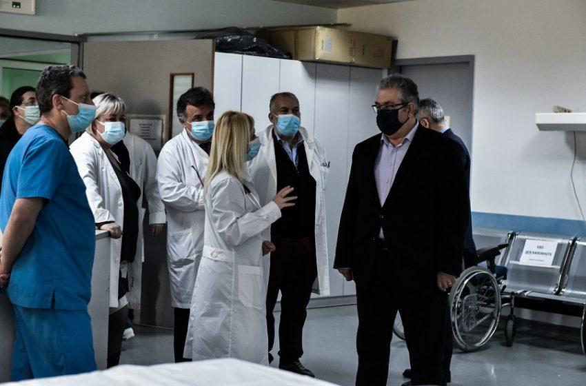 Κουτσούμπας: Όσο καθυστερεί η επίταξη ιδιωτικών κλινικών μεγαλώνει η ευθύνη της κυβέρνησης