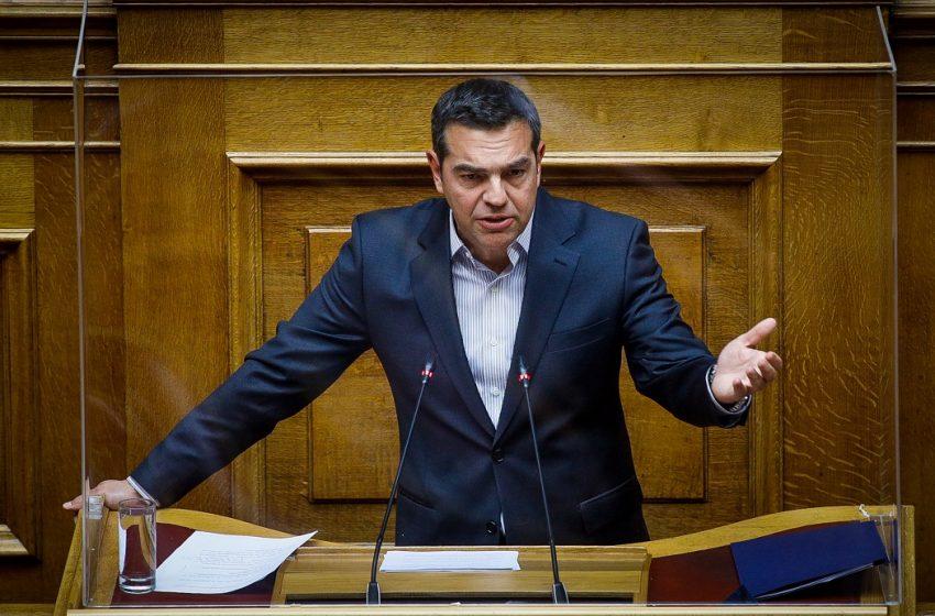 Σφοδρή επίθεση Τσίπρα: Ο κ. Μητσοτάκης όσο φθείρεται τόσο πιο επικίνδυνος γίνεται