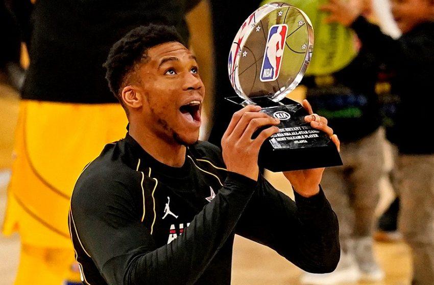 All Star Game NBA: MVP για πρώτη φορά ο Γιάννης Αντετοκούνμπο