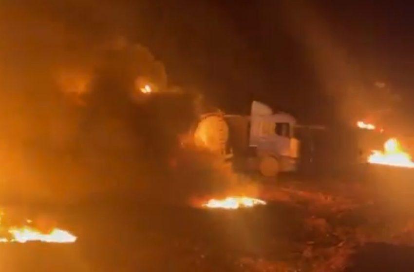 Τουρκική πυραυλική επίθεση κατά συριακών εδαφών που ελέγχει στη βόρεια Συρία (vid)