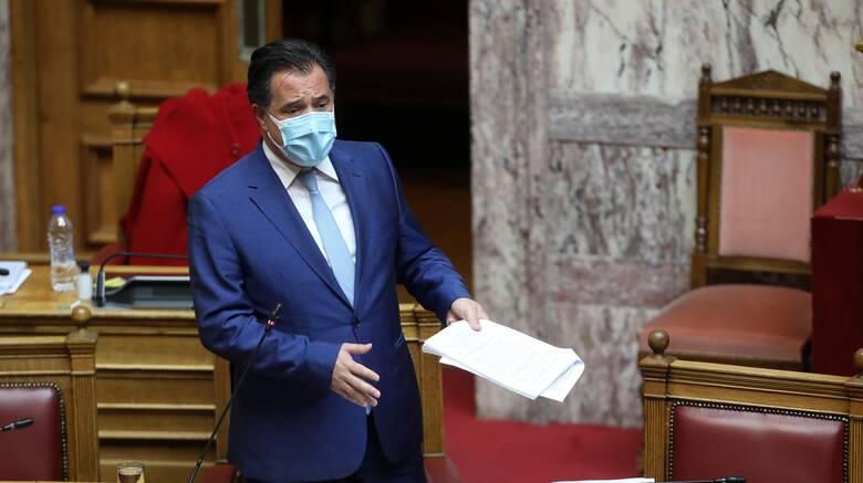 """Γεωργιάδης : """"Ο ΣΥΡΙΖΑ διαδίδει τον κοροναϊό για να κρατήσει τη χώρα στην καραντίνα"""""""