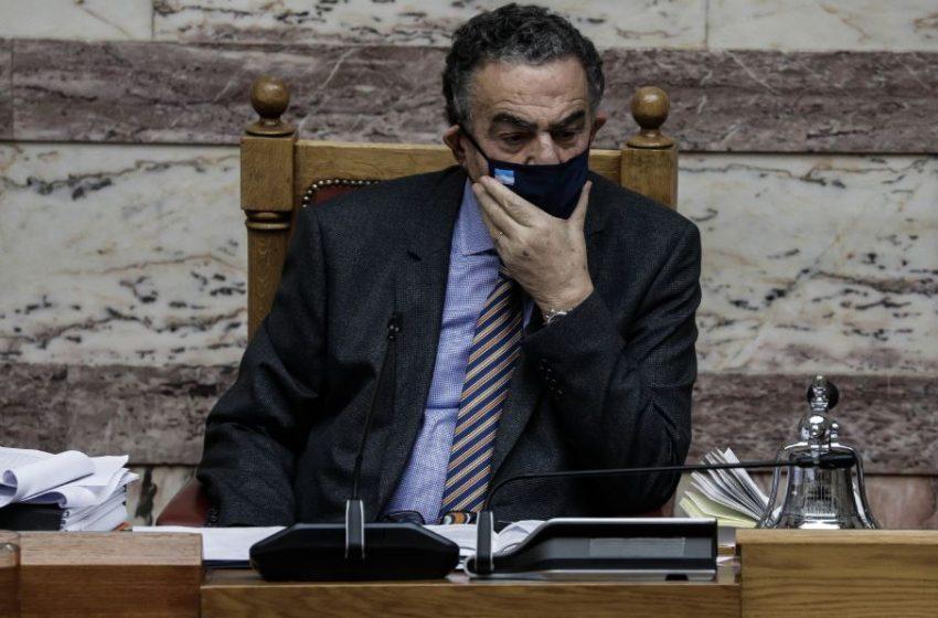 Αθανασίου στη Βουλή: Κακώς καταργήθηκε η παρά φύσιν ασέλγεια
