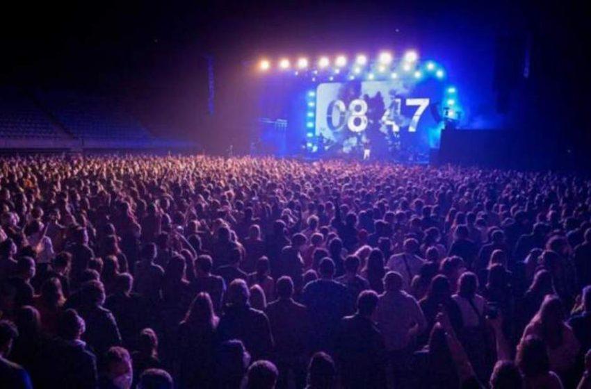 Πείραμα με την πρώτη συναυλία με 5.000 θεατές στην Ισπανία
