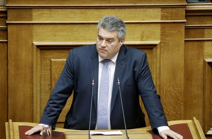 """Ο βουλευτής της ΝΔ Χρυσομάλλης αρνείται ότι έκανε κάτι παράνομο –  """"Έφαγε"""" πρόστιμο για παραβίαση lockdown"""