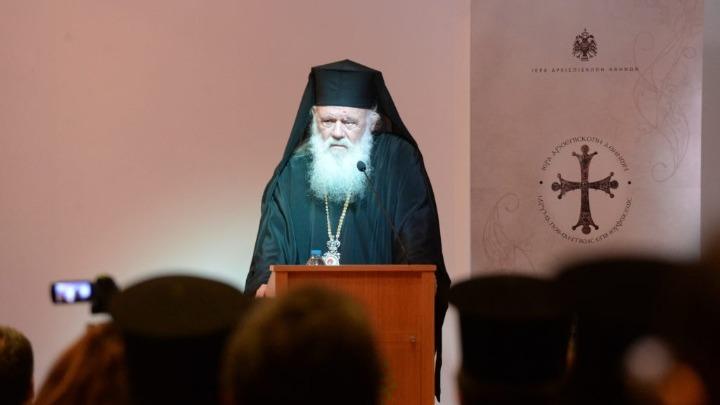 Αρχιεπίσκοπος Ιερώνυμος: Δώστε μας μία σπίθα και θα κάνουμε φωτιά που θα ζεστάνει τον κόσμο