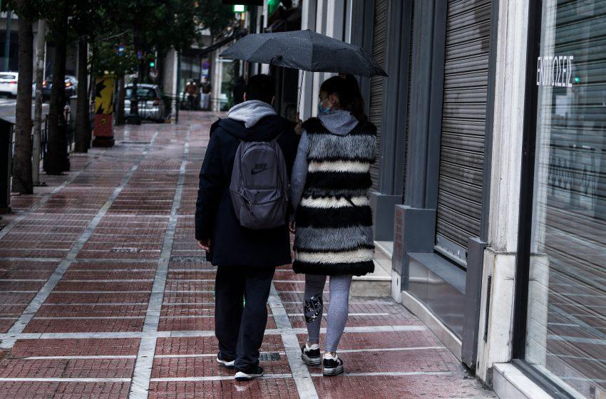 Αλλαγή του καιρού με βροχές και χαλαζοπτώσεις