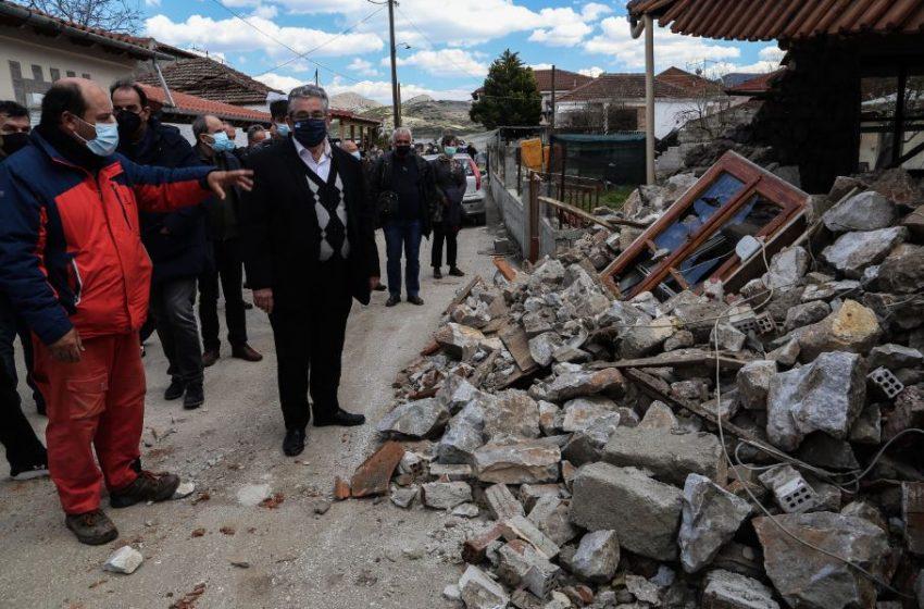 Κουτσούμπας: Να ληφθούν και τα άμεσα και τα μακροπρόθεσμα μέτρα που χρειάζονται οι σεισμόπληκτες περιοχές