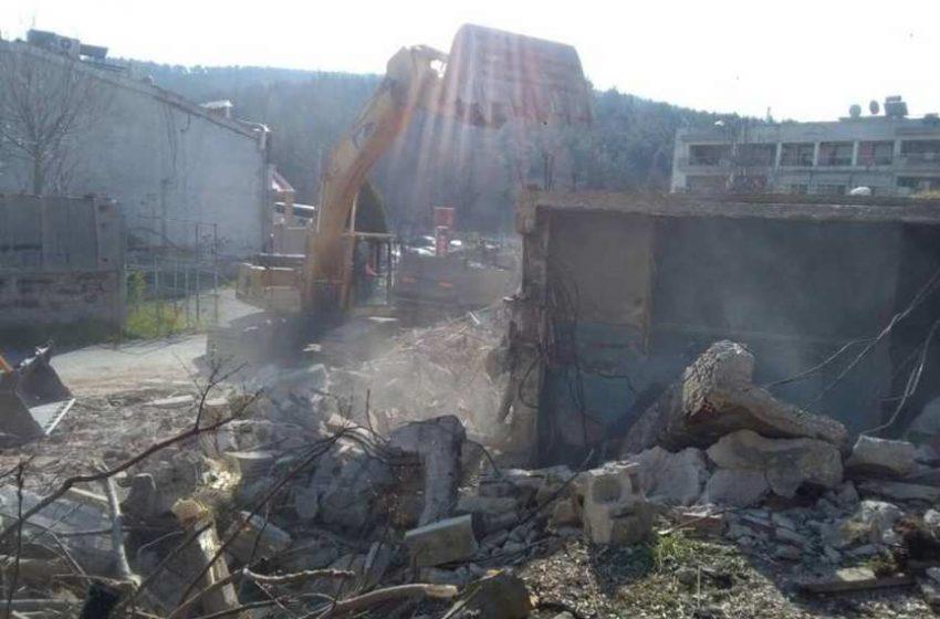 Γκρεμίστηκε ιστορικό νυχτερινό κέντρο στην Θεσσαλονίκη