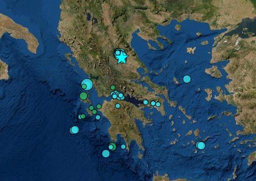 Νέος ισχυρός σεισμός στη Θεσσαλία