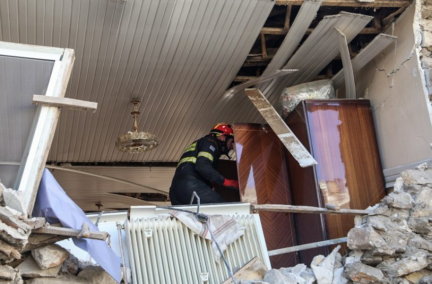 Κατέληξε ο 83χρονος που είχε απεγκλωβιστεί  στο σεισμό στην Ελασσόνα