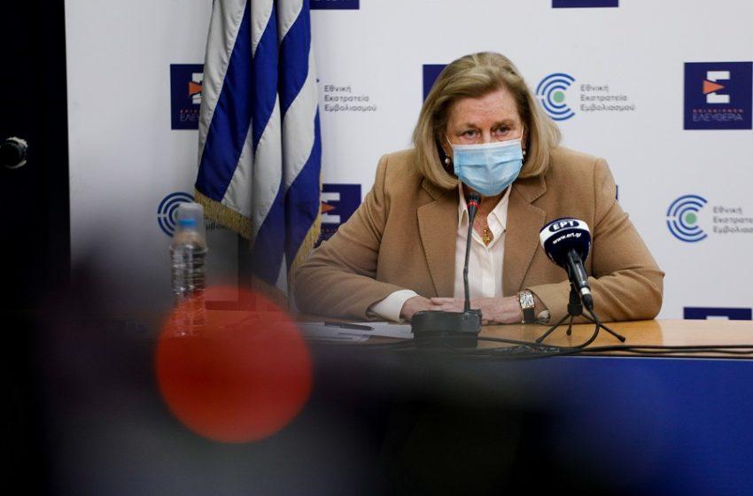Θεοδωρίδου: Δεν συνάδει με το ποσοστό εμβολιασμού το Πάσχα στο χωριό (vid)