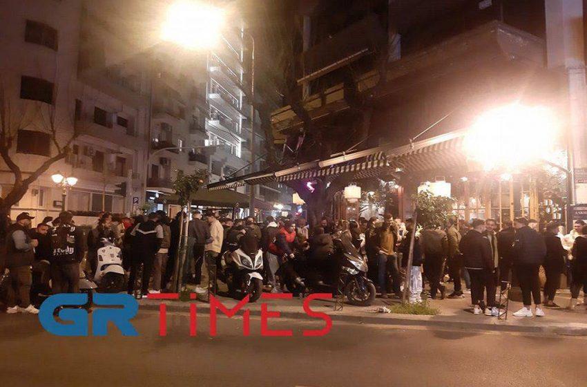 Νύχτα Σαββάτου σε Ψυρρή και Θεσσαλονίκη (vid)