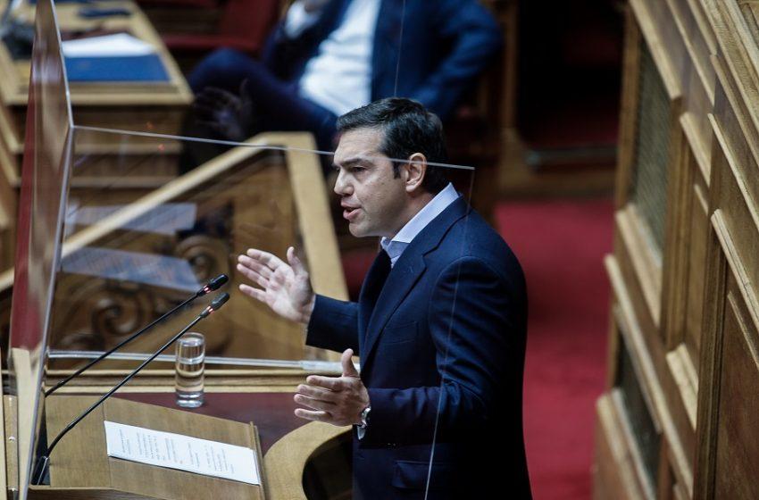 Τσίπρας: Σας κατηγορώ κύριε Μητσοτάκη ότι είστε ενορχηστρωτής – Να φοβάστε  την οργή των νοικοκυραίων όχι των μπαχαλάκηδων (vid)