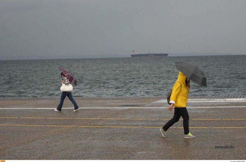Ραγδαία αλλαγή του καιρού με βροχές, καταιγίδες και θυελλώδεις ανέμους
